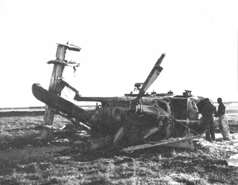 HH-43B 58-1850 Crash.5a
